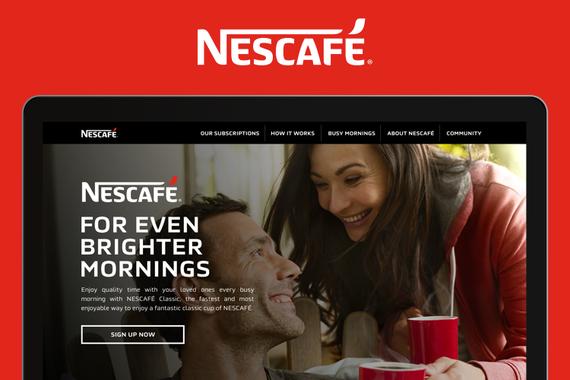 Nescafé Website