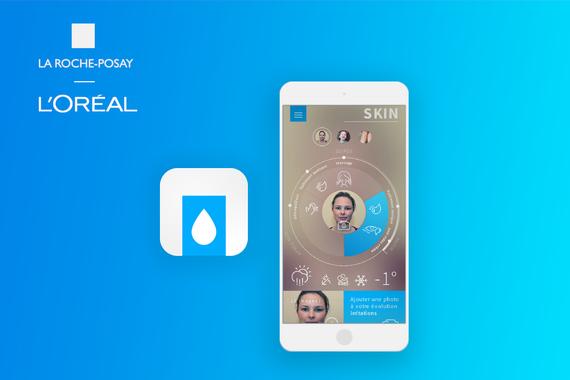 La Roche Posay: Mobile Application