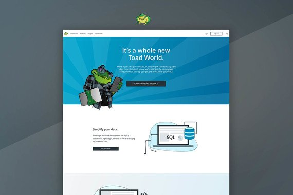 SaaS Product Website Redesign Proof of Concept