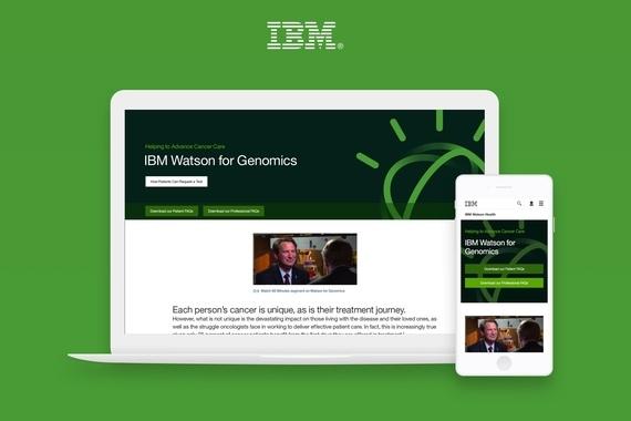 IBM Watson Health Genomics Landing Page