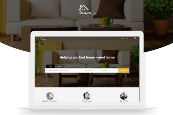Property Selling Website