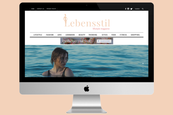 Lebensstil Fashion CMS