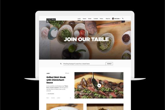 Cocina Website