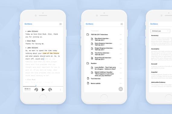 Scribevo - Online Transcription Platform