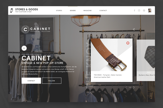 Stores&Goods - eCommerce Fashion Goods
