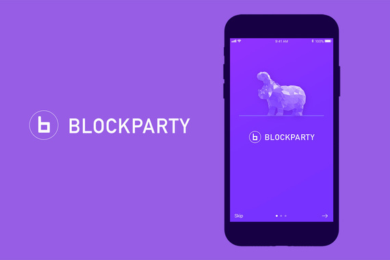 Blockparty - Blockchain UX/UI Mobile App and Site Design