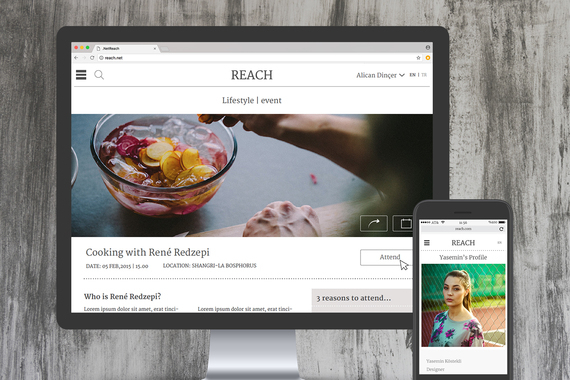 Reach | A Responsive Community Website