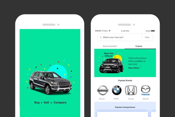 iOS App Design for Car Buyers
