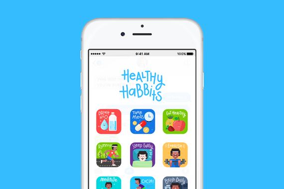 iOS Stickersheet
