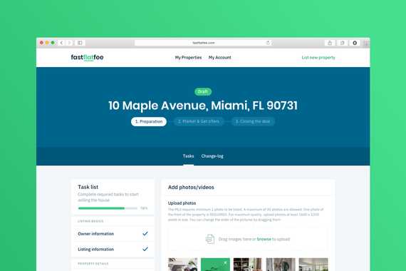 FastFlatFee | Sell Your Real Estate Without a Realtor