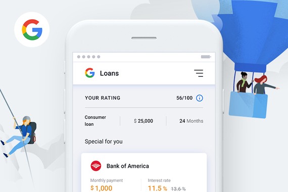 Google Bank Concept – Mobile Banking for the 21st Century