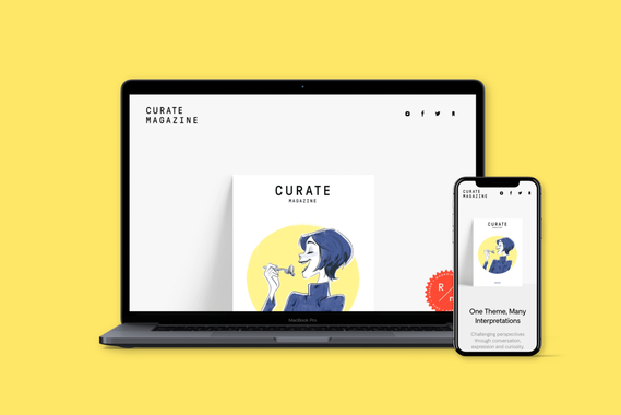 Curate Magazine   Online Editorial