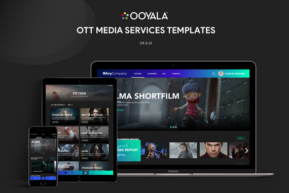 OTT Media Services Templates