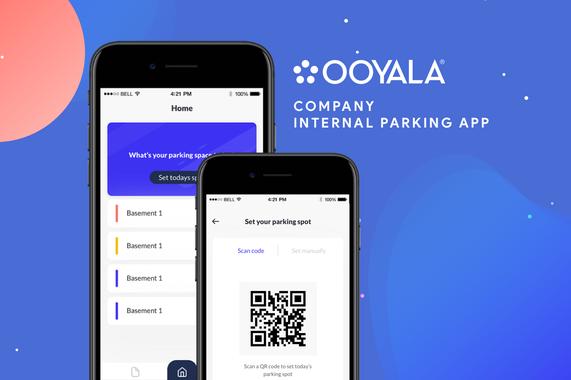 Internal Parking App