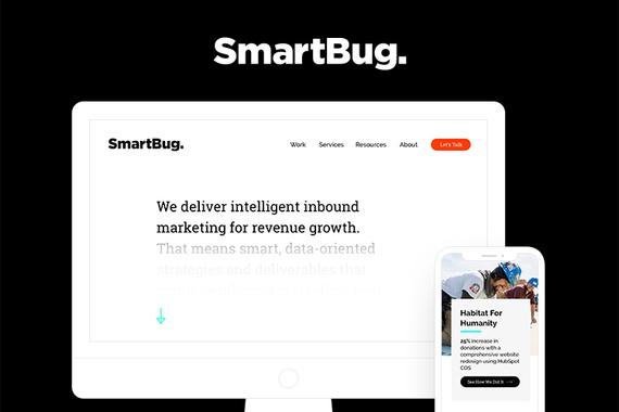 SmartBug Media Website and Rebranding