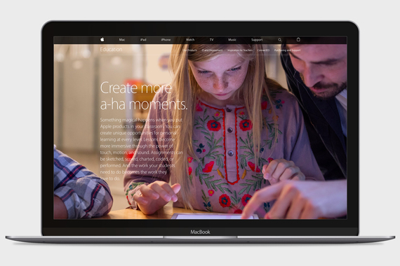 Apple Education Site