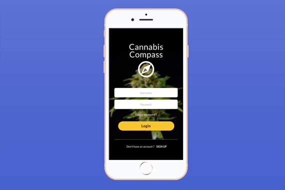 Mobile App for a Cannabis Lab