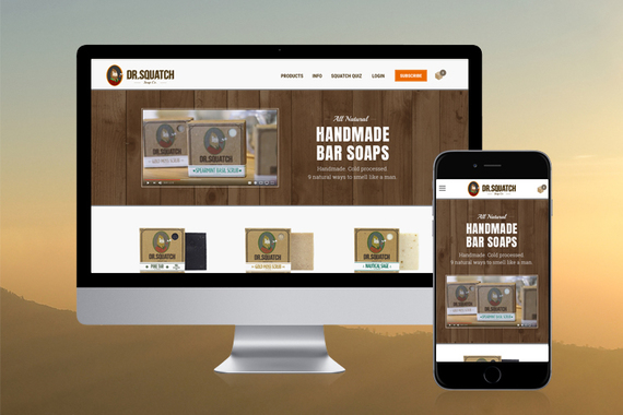 Dr. Squatch Soap Company: eCommerce Design