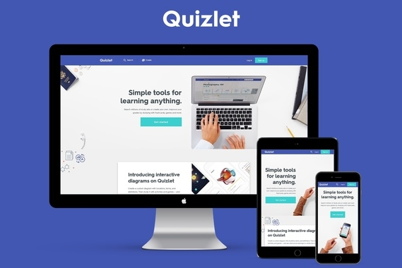 Quizlet Visual Identity and Design System