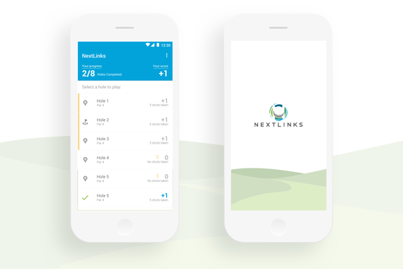 Golf Mobile Application UI Design