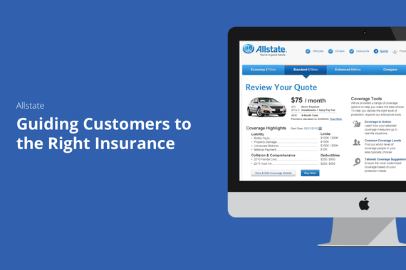 Guiding Customers to the Right Insurance