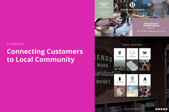Connecting Customers to Local Community