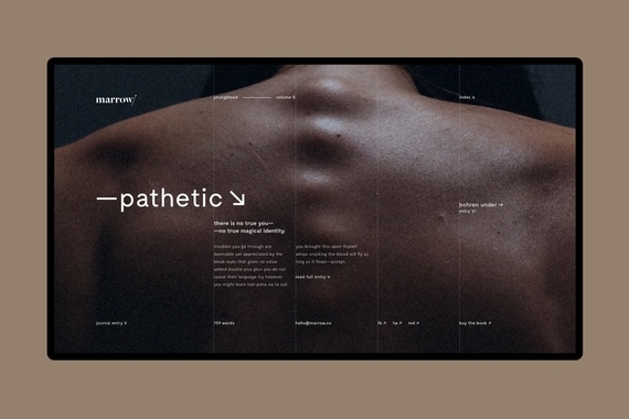 marrow/ – editorial project