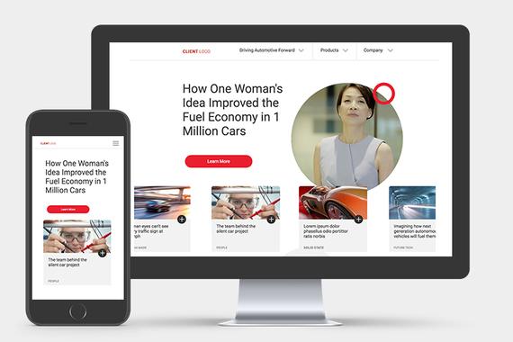 Magna International | B2B Website