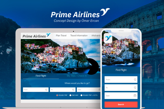 Prime Airlines | Concept Design