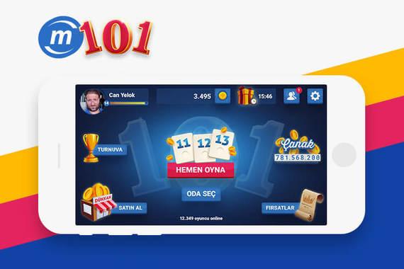 Mynet 101 Okey Mobile Game
