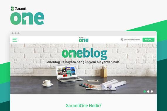 GarantiOne Website