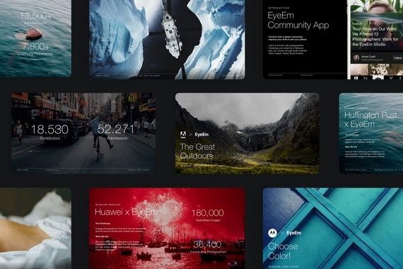 EyeEm – visual brand design