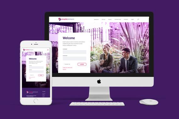Couplepreneurs | Responsive WordPress Website