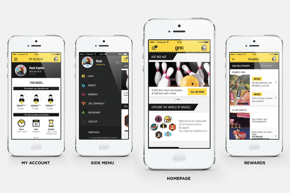 GNCTRKCLL | A Mobile App for the Youth Audience by Turkcell