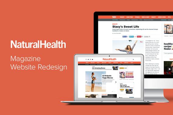 Natural Health Magazine Website