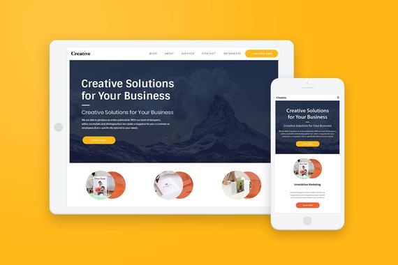 T Creative Studio - Web Design