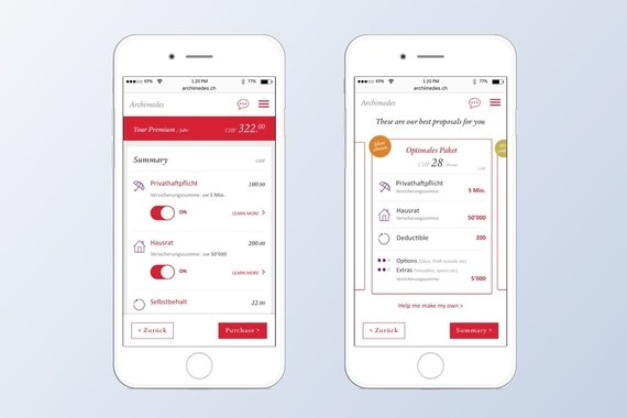 Archimedes Insurance App