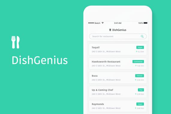 DishGenius - The Dish Rating App