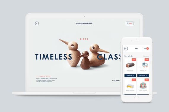 From Paris to Helsinki - eCommerce Website Design