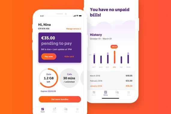 Telecom Service Provider App