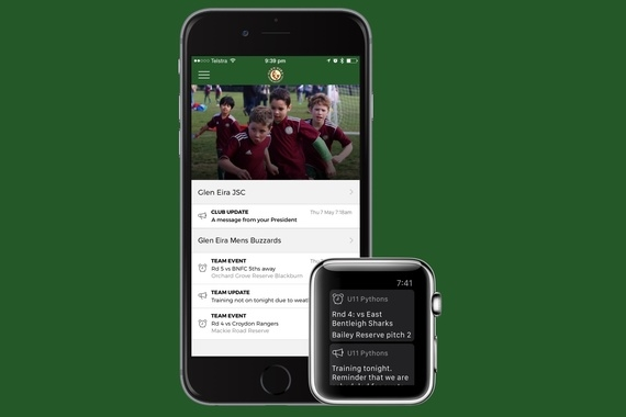 Soccer Team Management App – Ekeepe