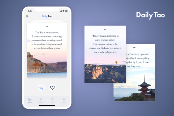DailyTao iOS App