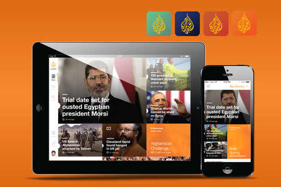 AJ Media Network Mobile Apps UX and UI.