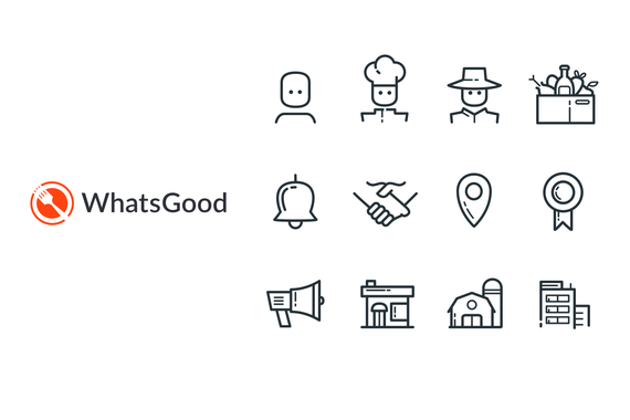 WhatsGood: A Fun Icon Set for an eCommerce for Farmers