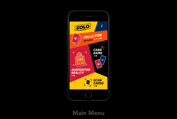 Star Wars Solo Card Collection App