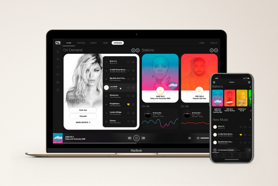 Clue Radio | Web & iOS Apps