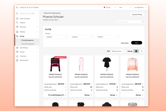 eCommerce Pricing Platform