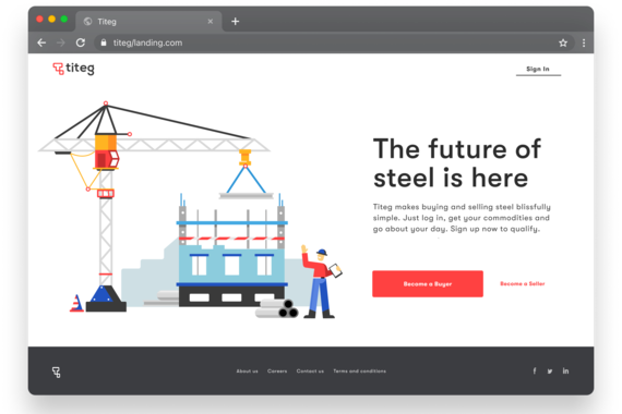 Commodity Startup Product    SaaS Two Sided Marketplace Platform