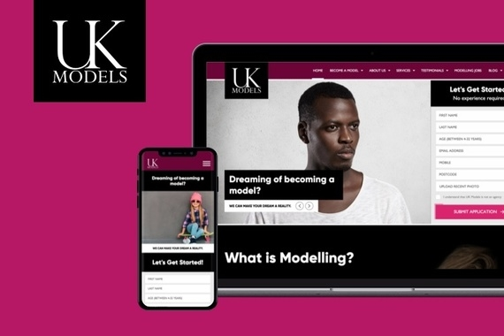 UKModels - Lead Generation Website