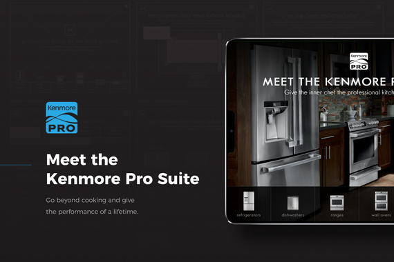 Kenmore Pro iPad Experience
